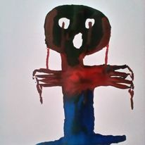 Blut, Menschen, Beschützen, Zeichnungen