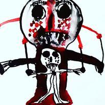 Kultur, Rot, Schmerz, Malerei