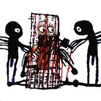 Angst, Psychiatrie, Outsider art, Artbrut