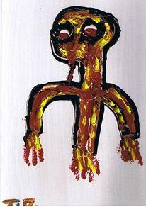 Malerei, Flammen