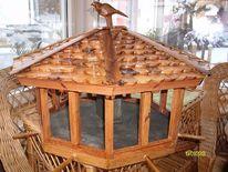 Schöne vogelhaus, Kunsthandwerk, Handarbeit