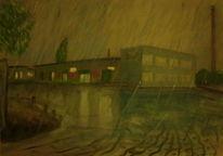 Malerei, Regen