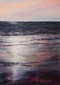 Sonnenuntergang, Meer, Wasser, Abendrot