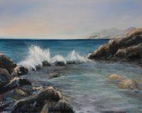 Felsen, Himmel, Mittelmeer, Küste