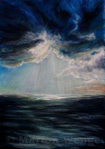 Wolken, Licht, Himmel, Meer