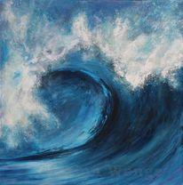 Wasser, Meer, Welle, Malerei