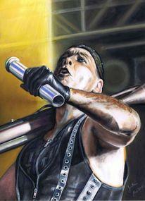 Rammstein, Musiker, Rockmusik, Aquarell