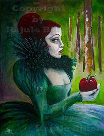 Wald, Schneewittchen, Böse, Apfel