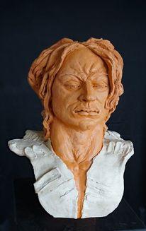 Skulptur, Heidelberg, Mann skulptur, Torso