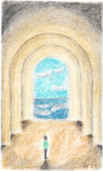 Frei, Pastellmalerei, Raum, Zeichnungen