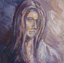 Gemälde, Portrait, Malerei,