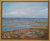 Insel, Wasser, Malerei