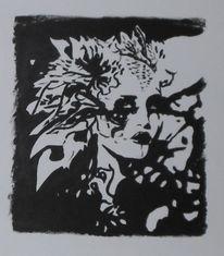 Fantasie, Acrylmalerei, Fee, Malerei