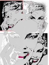 Pink, Sängerin, Digitale kunst