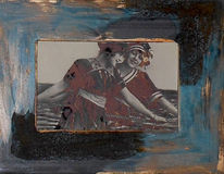 Fotografie, Rost, Patina, Collage