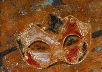 Rost, Malerei, Maske, Venedig
