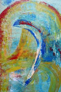Abstrakt, Bunt, Tor, Malerei