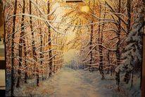 Schnee, Winterwald, Winter, Baum