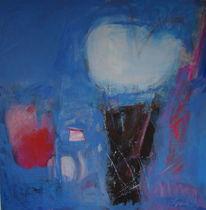 Vanilleeis mit erdbeeren, Malerei, Holzdruck, Malerei und fotografie