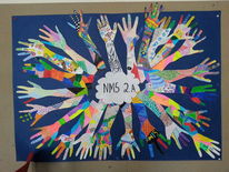 Hand, Hände, Gruppe, Gruppenarbeit