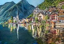Wasser, Hallstatt, Landschaft, Österreich