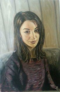 Ölmalerei, Gesicht, Porträtmalerei, Menschen