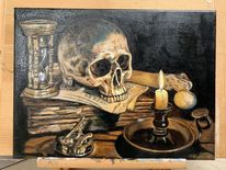 Schädel, Knochen, Gruselig, Vanitas