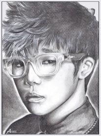 Infinite sunggyu, Zeichnungen, Portrait