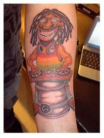 Tattoo, Farben,