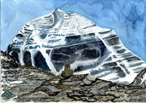 Tibet, Landschaft, Wanderschaft, Himalaya