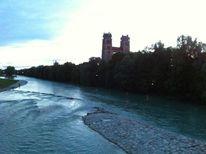 Reichenbachbrücke, München, Isar, Fotografie