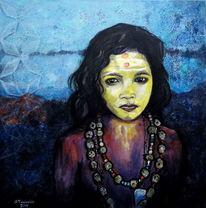 Grazyna federico, Religion, Das indische mädchen, Hindufest