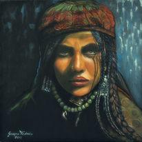 Portrait, Die nomadin2, Gujar, Frau