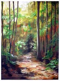 Grün, Wald, Natur, Ruhe