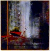 Abstrakt, Braun, Kupfer, Malerei