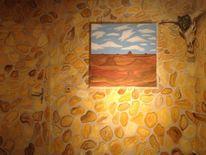 Stein, Western, Illusionsmalerei, Fenster