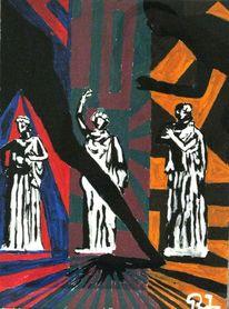 Statue, Schnell, Figur, Kontrast