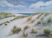 Strand, Nordsee, Himmel, Meer