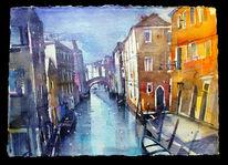 Haus, Italien, Boot, Venedig