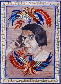 Tibetteppich, Schüler, Else lasker, Darstellung ihres gedichtes