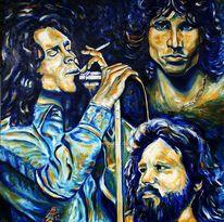 Musiker, Sänger, Rocklegende, Portrait