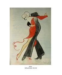 Tanz, Malerei, Amor