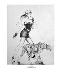 Malerei, Gepard