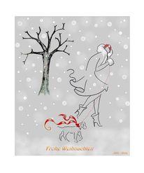 Weihnachten wunsch, Malerei