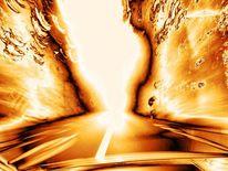 Reise, Auto, Straße, Licht