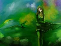 Fantasie, Erwachen, Natur, Moment