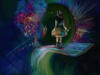Fantasie, Bunt, Malen, Digitale kunst