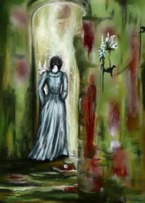 Schmetterling, Fantasie, Gedanken, Rose