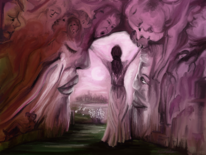 Fantasie, Alptraum, Rosa, Traum