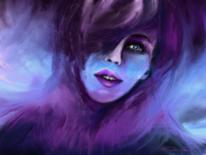 Fantasie, Violett, Sehnsüchtig, Symbolik